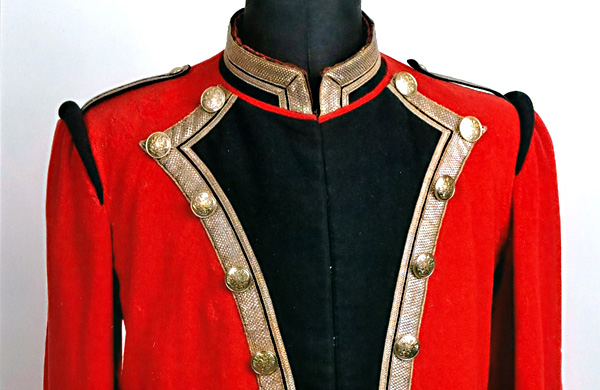 Postilion's ceremonial jacket